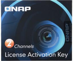 Qnap Aktywacyjna licencja na 2 kanały dla usługi Surveillance Station Pro w urządzeniu QNAP NAS (LIC-CAM-NAS-2CH)