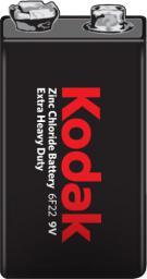 Kodak Bateria Extra Heavy Duty 9V Block 250mAh 1szt.