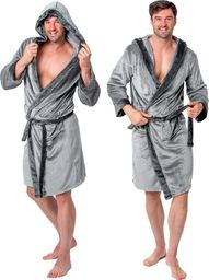 Tutumi Szlafrok męski Comfort Grey