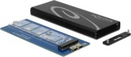 Kieszeń Delock Obudowa zewnętrzna M.2 NGFF SSD - USB 3.1 (42570)