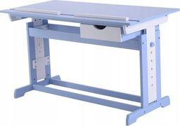 Costway Biurko szkolne stół kreślarski dla dziecka blue