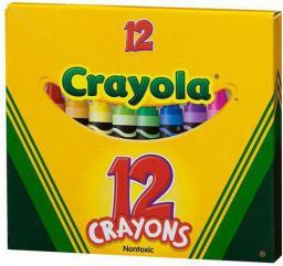 Crayola Kredki Świecowe 12 szt 0012