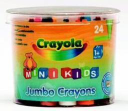 Crayola Kredki świecowe mini 24 szt. 0784