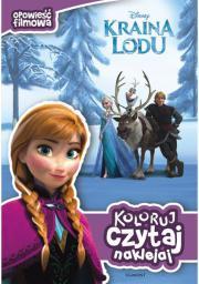 Kraina Lodu - Koloruj, czytaj, naklejaj (71630)