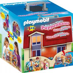 Playmobil Nowy przenośny domek dla lalek (5167)