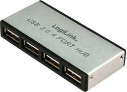 HUB USB LogiLink HUB USB 2.0 4-Port (UA0003)