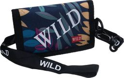 Always Wild Sportowy, młodzieżowy portfel poziomy ze smyczą, zamykany na rzep Always Wild