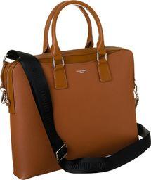 Torba David Jones Elegancka, biznesowa torba damska aktówka z kieszenią na laptopa - David Jones