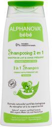 Alphanova Bebe Delikatny szampon do włosów Bio 200ml