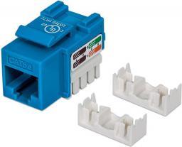 Intellinet Network Solutions Moduł keystone Cat.5e, UTP, RJ45, zaciskany, niebieski (210546)