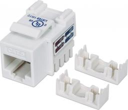 Intellinet Network Solutions Moduł Keystone CAT.6, UTP, RJ45, zaciskany, biały (210591)