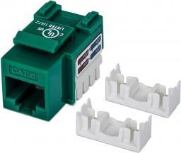 Intellinet Network Solutions Moduł Keystone CAT.6, UTP, RJ45, zaciskany, zielony (210638)