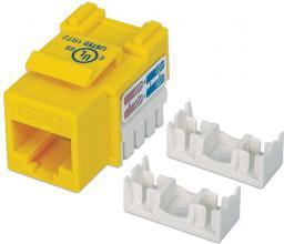 Intellinet Network Solutions Moduł Keystone CAT.6, UTP, RJ45, zaciskany, żółty (210584)