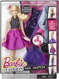 Mattel BARBIE Modowe przebieranki Blond DJW57/DJW58