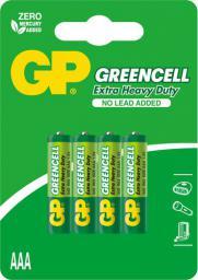 GP Bateria Greencell AAA / R03 4szt.