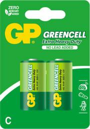 GP Bateria Greencell C / R14 1 2szt.