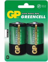 GP Bateria Greencell D / R20 1 2szt.