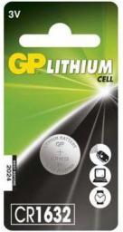 GP Battery Bateria Cell CR1632 140mAh 1szt.
