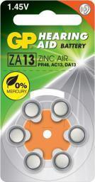 GP Battery do aparatów słuchowych PR48 blister 6szt. (ZA13F-D6)