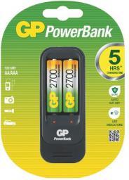 Ładowarka GP Battery uniwersalna PB560 2xAA/AAA Akumulatory w zestawie 2x 270AAHC (PB560 GS270-UC2, 1 blister)