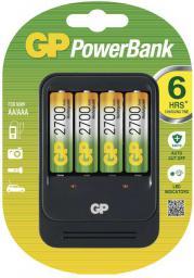Ładowarka GP Battery uniwersalna PB570 4xAA/AAA Akumulatory w zestawie 4x 270AAHC (PB570 GS270-UC4, 1 blister)