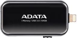 Pendrive ADATA Dashdrive I-memory UE710 64GB (AUE710-64G-CBK)