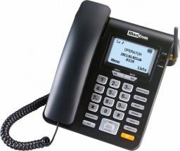 Telefon przewodowy Maxcom MM 28D - telefon z funkcją GSM