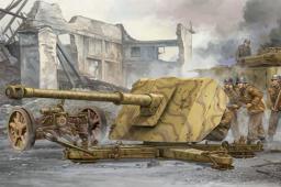 Trumpeter German IIWW Anti-tank gun 88mm PAK43/41 (02308)