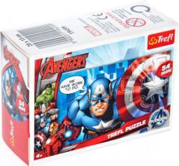 Trefl 54 Drużyna Avengers: Captain America - Puzzle Mini (19499)