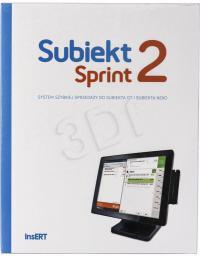 Program Insert INSERT SUBIEKT SPRINT 2 - SS2