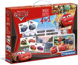 Clementoni Nowy Edukit 4w1 Cars 13779