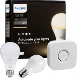 Philips Zestaw startowy Hue White LED E27 (8718696449554)