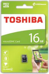 Karta MicroSD Toshiba 16GB (THN-M102K0160M4)