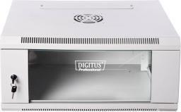 Szafa Digitus Szafka wisząca 19'' 6U 600x450 RAL7035 (DN-W19 06U/450)