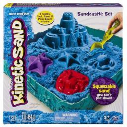 Piasek kinetyczny Libra KINETIC SAND Podwodny świat 454g niebieski 5909995