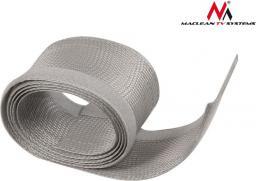 Organizer Maclean Maskownica kabli 1.8m 85mm srebrna (MCTV-675S)