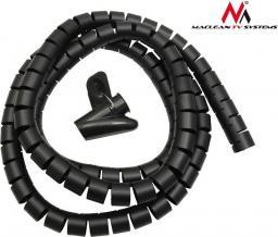 Organizer Maclean Maskownica kabli czarna (MCTV-676B)