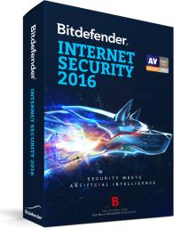 Bitdefender Internet Security 2016 (BDIS-N-1Y-1D)