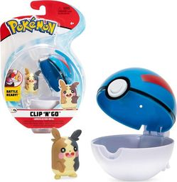 Wicked Cool Toys Morpeko pokemon clip pokeball seria 8