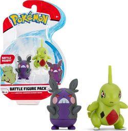 Wicked Cool Toys Figurki pokemon larvitar I morpeko hangry mode seria 8