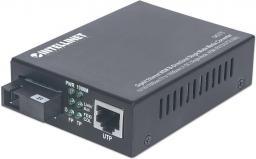 Konwerter światłowodowy Intellinet Network Solutions Dwukierunkowy Media Konwerter WDM Gigabit Jednomdowy (545075)