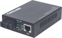 Konwerter światłowodowy Intellinet Network Solutions Media konwerter Gigabit Ethernet Jednomodowy (507349)