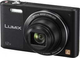 Aparat cyfrowy Panasonic Lumix DMC-SZ10, Czarny (DMC-SZ10EP-K)
