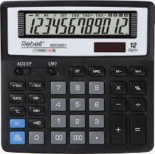 Kalkulator Rebell SDC620+