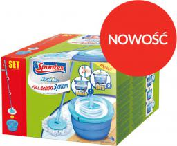 Spontex Full Action System Compact+ mop obrotowy z wiadrem (97750192)