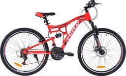 """Fuzlu Rower Perfect Power 1D 26"""" czerwony Eco"""