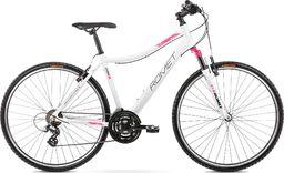 """Romet Rower Romet Orkan D 28 19"""" biało-różowy 12"""