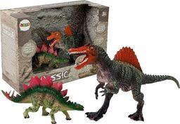 LEANToys Zestaw Figurek Dinozaur Spinosaurus, Stegosaurus
