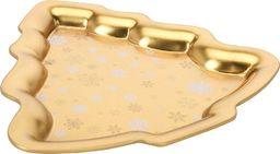 Excellent Housewear Patera złota w kształcie choinki