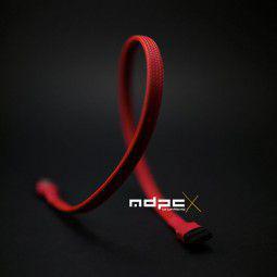 MDPC-X Rękaw płaski kabel SATA Red, 0,35m (SL-SA-RD)